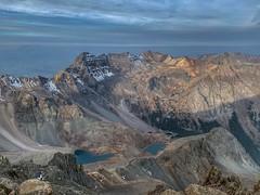 Mount Sneffels summit looking southwest