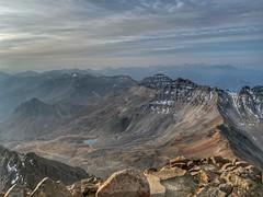 Mount Sneffels summit looking southeast