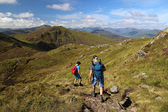 The Trossachs From Ben Venue