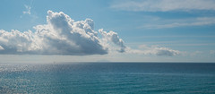 Cloud formation and isle of Monte Christo
