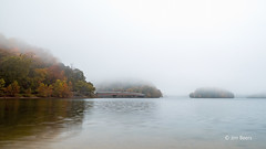 A Foggy Autumn Day at Loch Raven Reservoir
