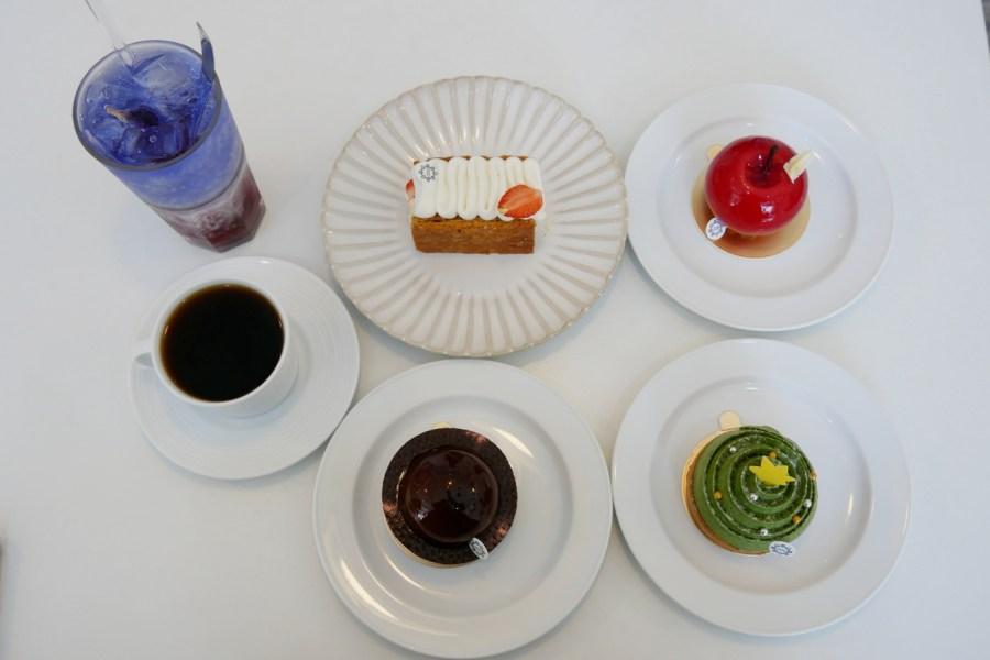 [板橋美食]稻町森法式甜點舖Jouons Ensemble Pâtisserie|季節限定不斷推出各式甜點 @VIVIYU小世界