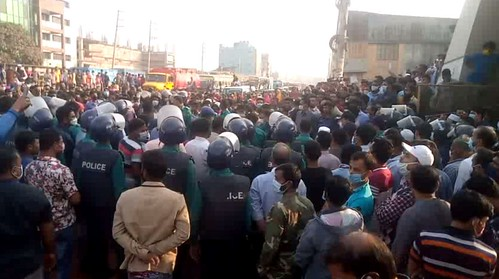 Gazipur-(3)- 07 January 2021-Worker Unrest & Barricade At Sign Board-5