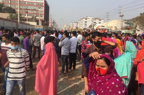 Gazipur-(3)- 07 January 2021-Worker Unrest & Barricade At Sign Board-4