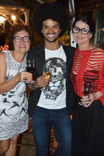 Cibele Teixeira, Felipe e Luciana Porfiro