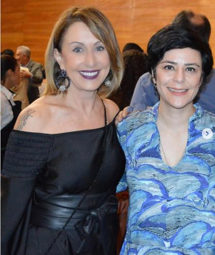 Raquel de Carvalho e Fernanda Takai