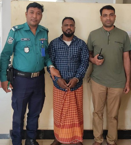 Gazipur-(2)- 21 February 2021-The Covicted Accused Was Arrested At Bason PS