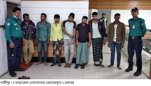 Gazipur-(1)- 21 February 2021-Cow Thieves Arrested
