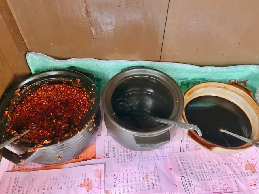 [龍潭美食]老眷村米干|隱藏在干城五村裡~家傳三代的異域小吃.每天現作米干 @VIVIYU小世界