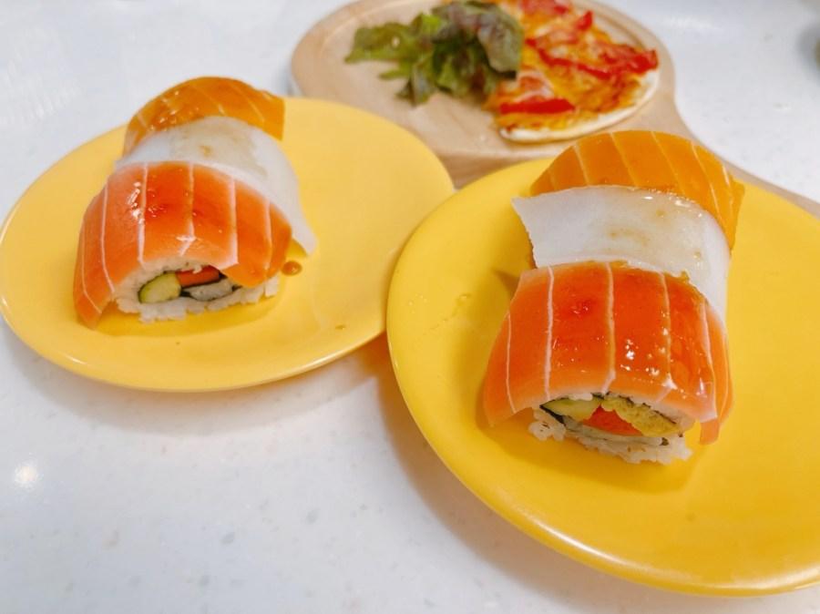 [八德美食]爭先食蔬 爭鮮集團全台第一家素食版爭鮮食蔬壽司~等候上餐超久 @VIVIYU小世界