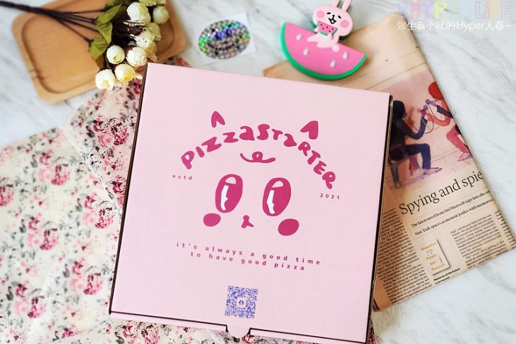 51242798062 f6bf670765 c - 有著萌萌臉的粉紅色披薩盒超少女心,有種披薩主打南義巴里式薄皮披薩,副餐選擇也不少!