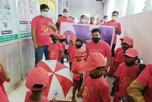 Gazipur-(2)- 05 June 2021- Clubfoot Day (Food distribution among clubfoot children)-1