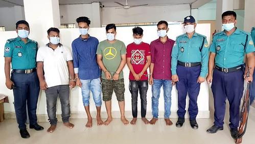 Gazipur- 09 June 20221- Five Kidnapper Arrest & Victim recovered