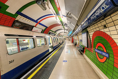 Almost lockdown in the Piccadilly line