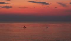 Abends am Meer / Вечер на море / Evening by sea