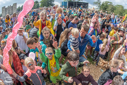 Crowds at Camp Bestival 2021