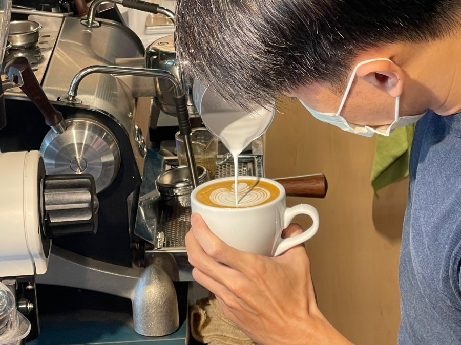 [桃園美食]金木犀商行 KinMokusei|向陽公園前新開咖啡館~自家烘焙咖啡豆.手沖咖啡 @VIVIYU小世界