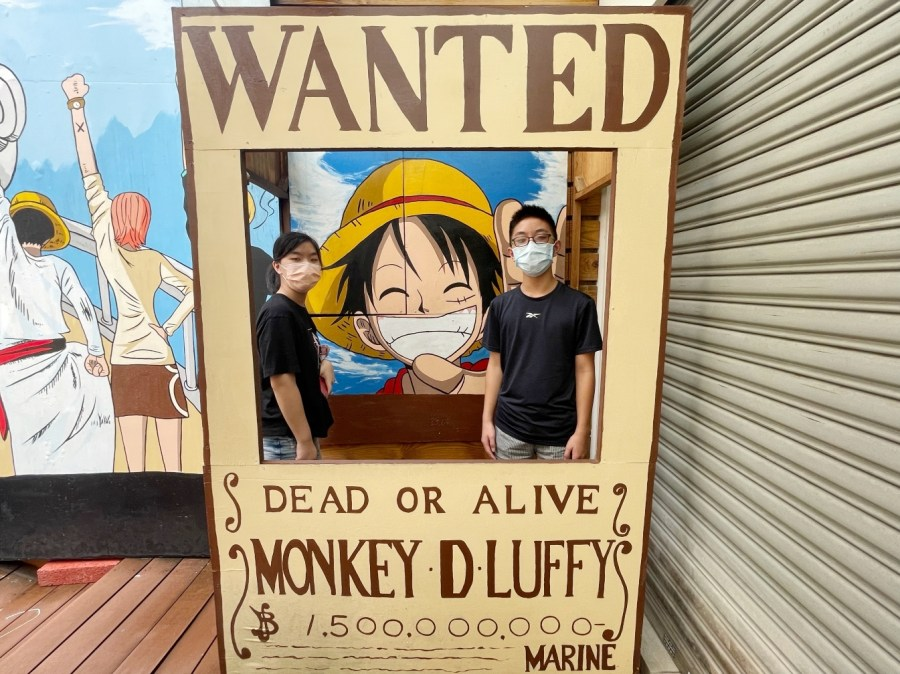 [台中景點]動漫彩繪巷 台中西區免費景點~大人小孩都很喜愛的日本動漫人物復刻 @VIVIYU小世界