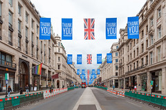 Regent Street in July 2020