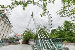The London Eye in July 2020