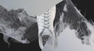 A Nike lançou tênis com matérial sustentável de couro reciclado