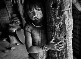 As fotos ilustraram campanha para proteger indígenas da covid-19