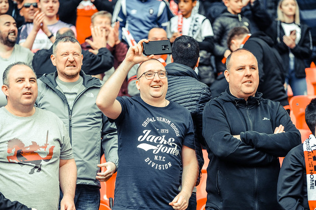 Fan GALLERY: National League Play-Off Final between AFC Fylde & Salford City