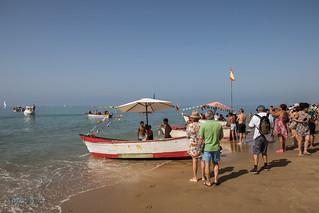 Procesion El Carmen - La Antilla. 16-07-17.