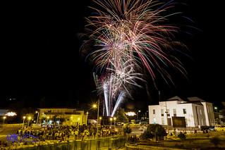 Fuegos Artificiales San Roque 2015.