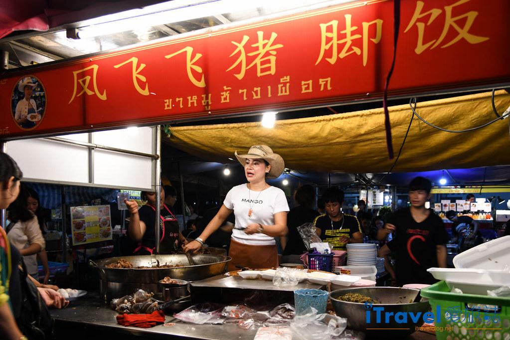 清邁小吃美食 鳳飛飛豬腳飯 (1)
