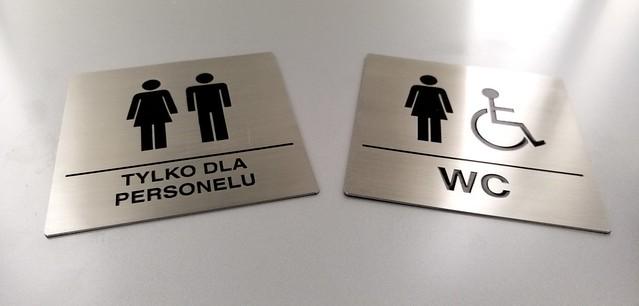 piktogramy WC ze stali nierdzewnej, grawerowaen i emaliowane (2)