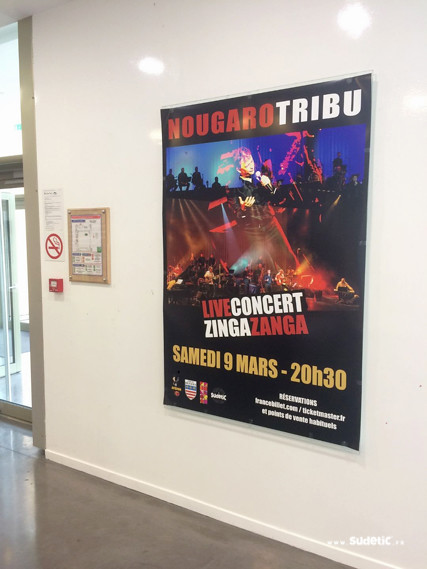 Sudetic Nougaro Tribu affiches-3