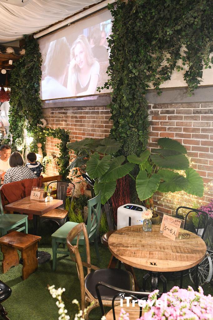 首爾庭院花房咖啡 Madang Flower Cafe (13)