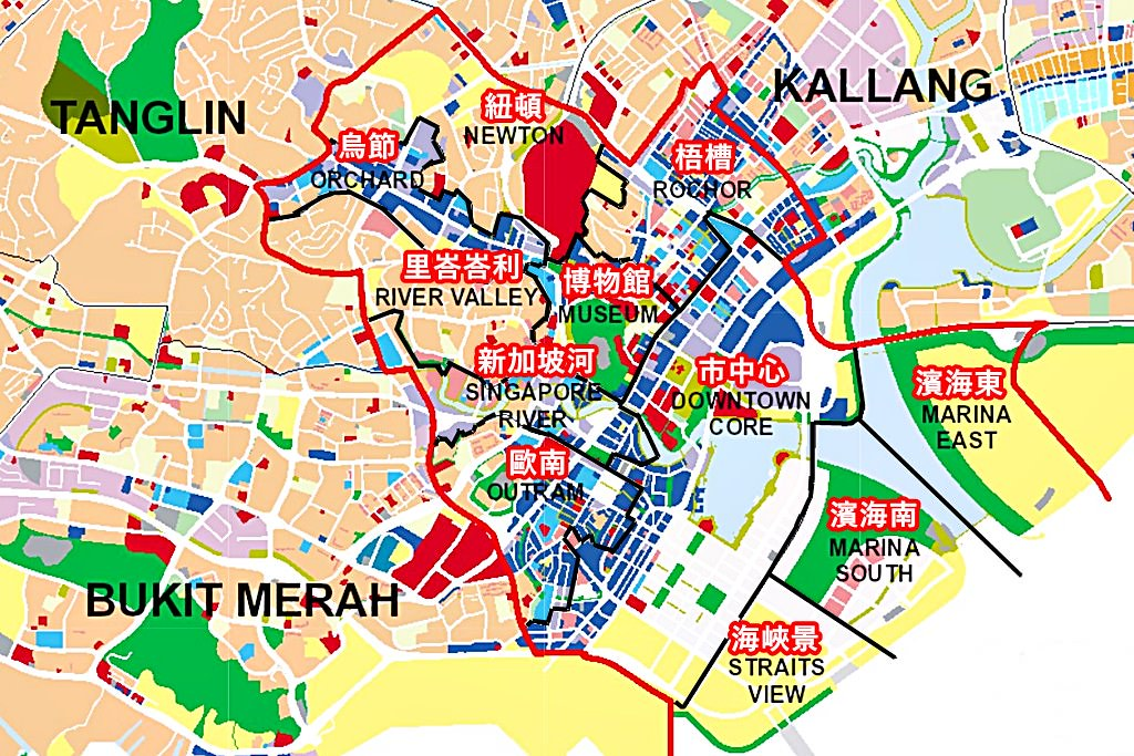 Singapore Central Area
