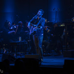 Dan Mangan with the NAC Orchestra