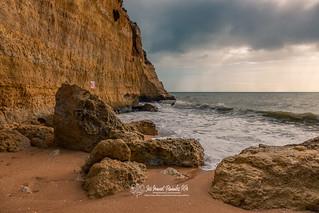 Praia do Carvoeiro. 23-11-19.