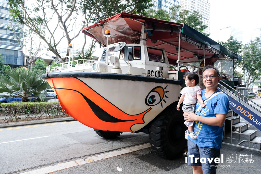 新加坡水陸兩棲鴨子船遊覽 Singapore Duck Tours Bus (7)