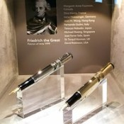 MAC visited the Montblanc writing instrument manufacturing facility in Hamburg Germany