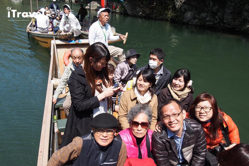 京都保津川遊船 (14)