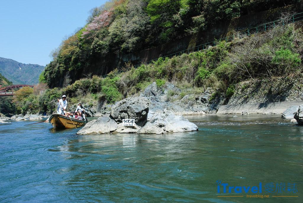京都保津川遊船 (1)