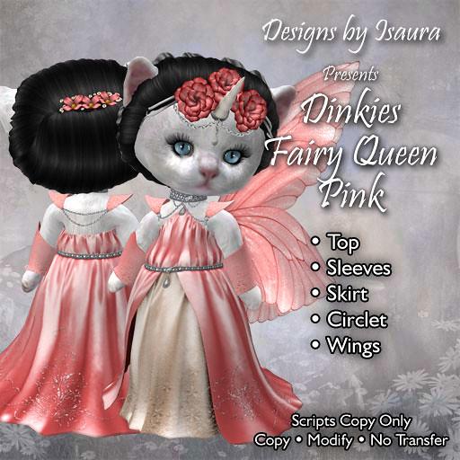 Dinkies Fairy Queen Pink