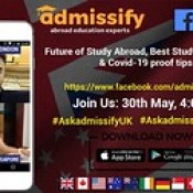 ASK ADMISSIFY UK | LIVE FROM LONDON ASK ADMISSIFY SINGAPORE | LIVE FROM SINGAPORE