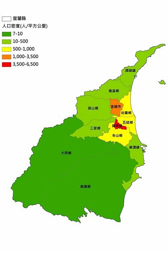 Yilan Map