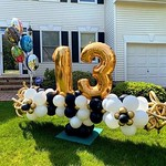 13th Birthday Balloon Sculpture
