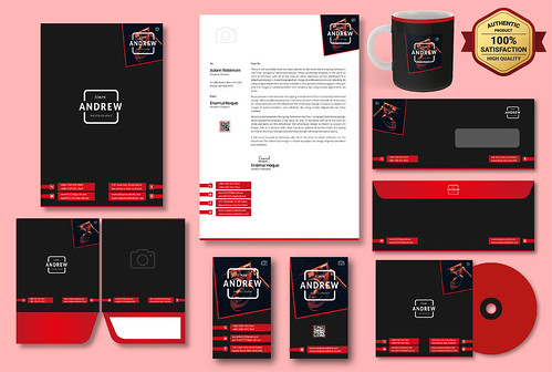 I will Design Classy Business Card, Letterhead and All Stationery Items