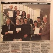 2001-04 Receiving grants for SME