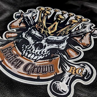 Broken Crown Sublimated Patch