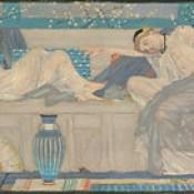 Albert Moore Two Resting Women c. 1875
