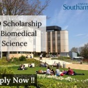 PhD-Studentship-in-Biomedical-Science-at-the-University-of-Southampton-800x600