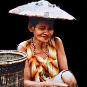 Borneo - Dayak Woman - 7d